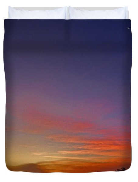337 North Duvet Cover by Juergen Weiss