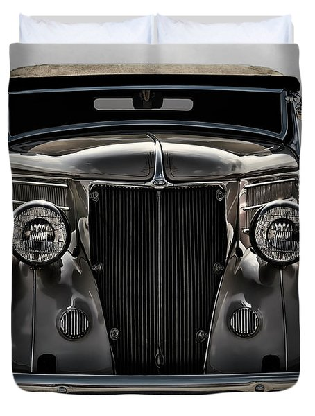 '36 Ford Convertible Coupe Duvet Cover by Douglas Pittman