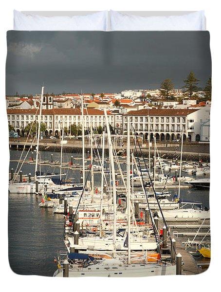 Ponta Delgada Duvet Cover by Gaspar Avila