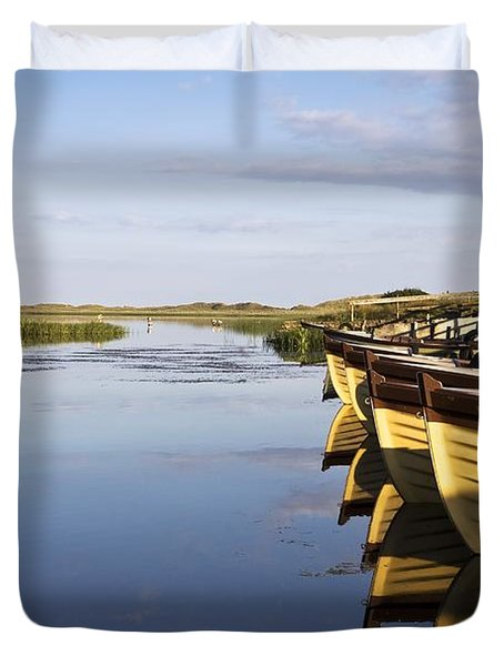 Dunfanaghy, County Donegal, Ireland Duvet Cover by Peter McCabe