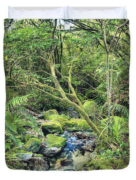 Native bush Duvet Cover by MotHaiBaPhoto Prints
