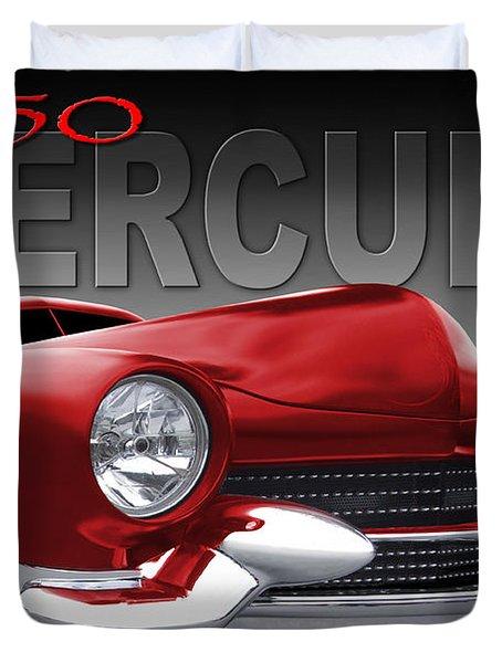 50 Mercury Lowrider Duvet Cover by Mike McGlothlen