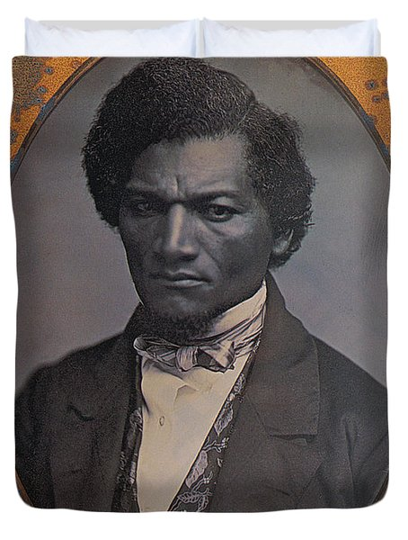 Frederick Douglass, African-american Duvet Cover by Photo Researchers