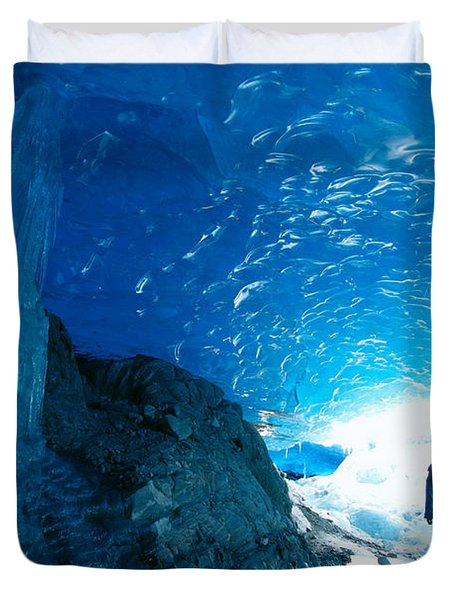 Alaska, Juneau Duvet Cover by John Hyde - Printscapes
