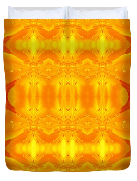 A Brighter Day Duvet Cover by Jen Sparks