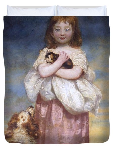 A Child Duvet Cover by James Northcore