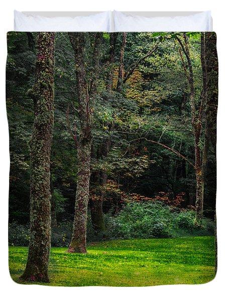 A Place To Unwind Duvet Cover by Scott Hervieux