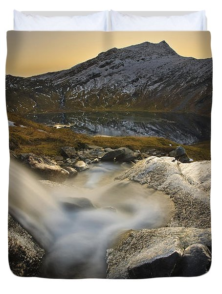 A Small Creek Running Duvet Cover by Arild Heitmann