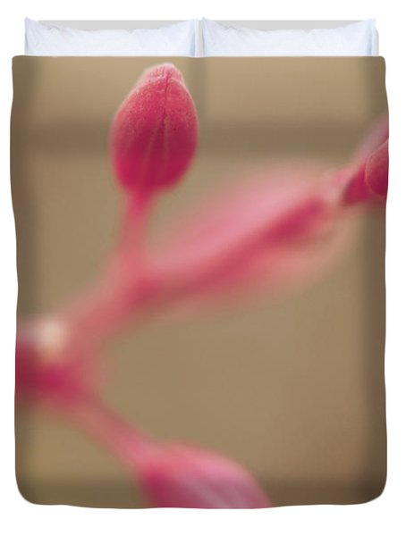 A Tentative Touch Duvet Cover by Laurie Search