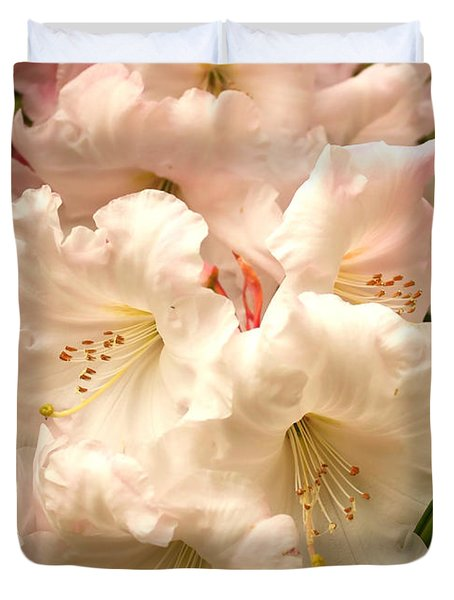 A Touch of Pink Duvet Cover by Carol Groenen