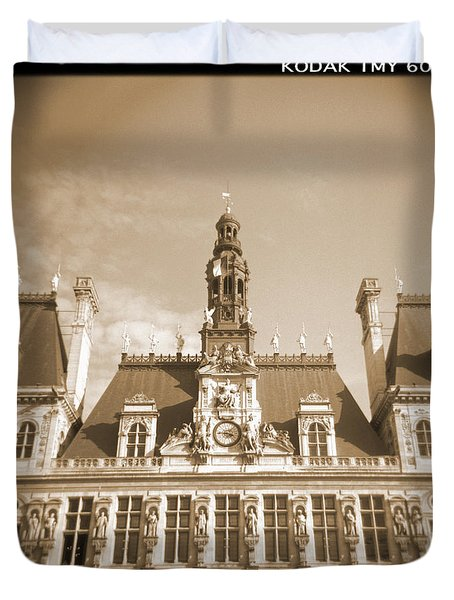 A Walk Through Paris 15 Duvet Cover by Mike McGlothlen
