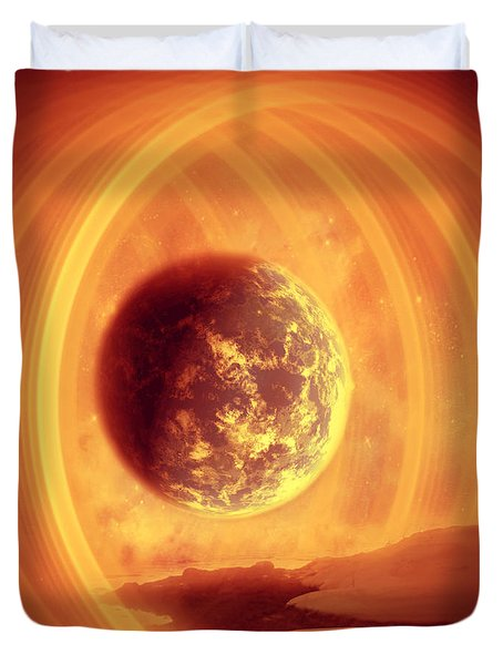 A Whole New World Duvet Cover by Ester  Rogers