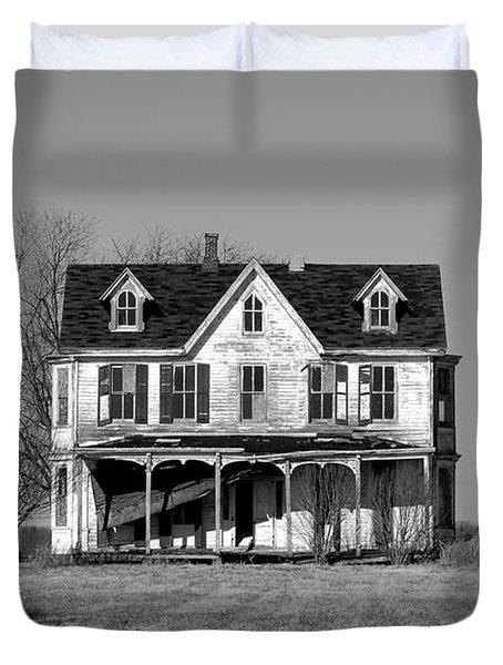 Abandoned IIi Duvet Cover by Richard Ortolano