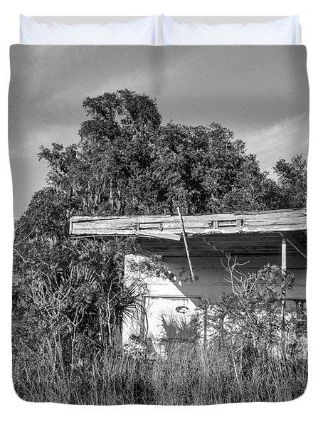 Abandoned Duvet Cover by Lynn Palmer