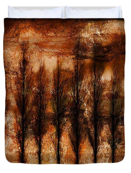 Absolution Duvet Cover by Brett Pfister