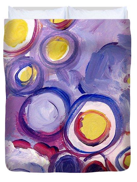 Abstract I Duvet Cover by Patricia Awapara