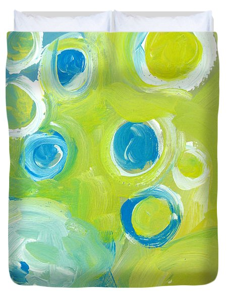 Abstract IIII Duvet Cover by Patricia Awapara
