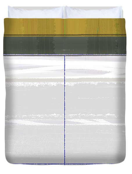 Abstract Light 8 Duvet Cover by Naxart Studio