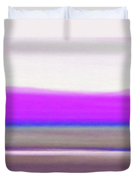 Abstract Sunset 65 Duvet Cover by Gina De Gorna