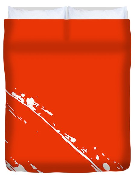Abstract Swipe Duvet Cover by Pixel Chimp