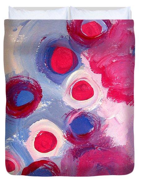 Abstract Vi Duvet Cover by Patricia Awapara