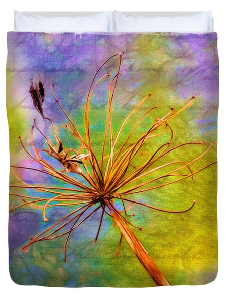 Agapanthus Duvet Cover by Judi Bagwell