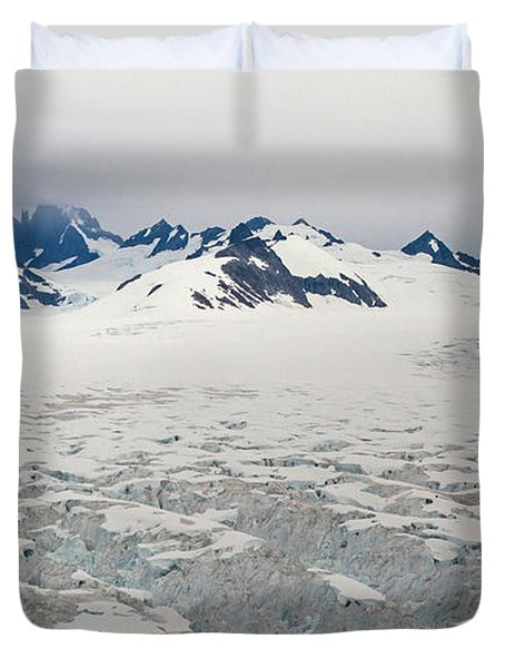 Alaska Frontier Duvet Cover by Mike Reid