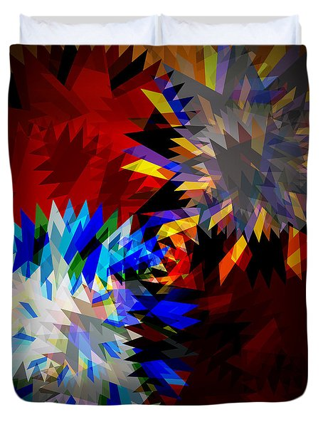 allure blade Duvet Cover by ATIKETTA SANGASAENG
