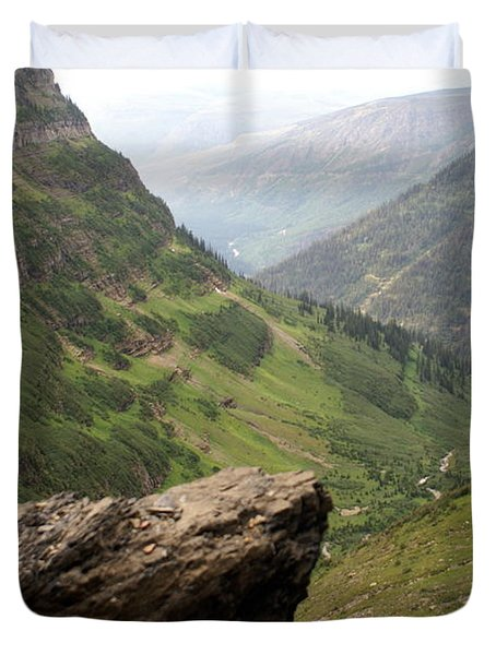 Along The High Line Duvet Cover by Marty Koch