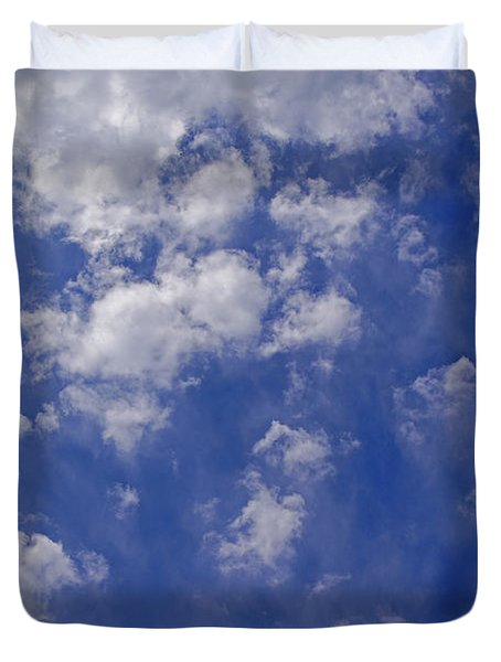 Alto Cumulus With Ice Duvet Cover by Mick Anderson