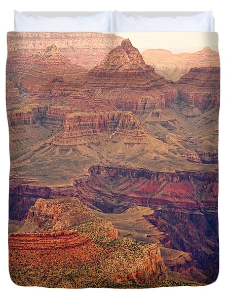 Amazing Colorful Spring Grand Canyon View Duvet Cover by James BO  Insogna