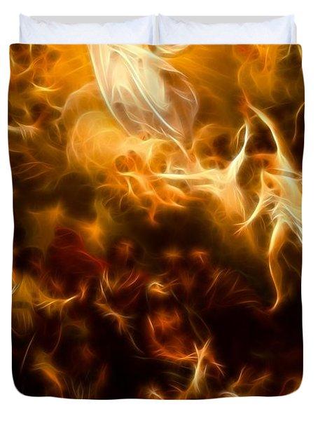 Amazing Jesus Resurrection Duvet Cover by Pamela Johnson