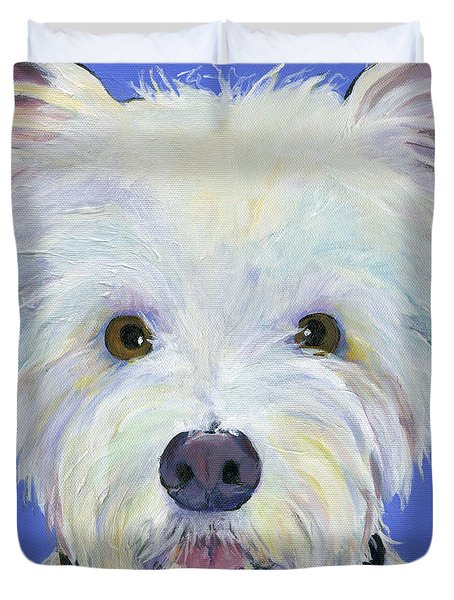 Amos Duvet Cover by Pat Saunders-White