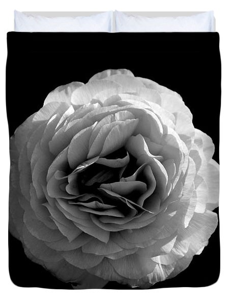 An English Rose Duvet Cover by Sumit Mehndiratta