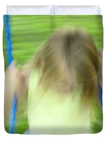 Angel Swing Duvet Cover by Aimelle