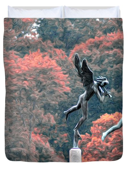 Angels Duvet Cover by Bill Cannon