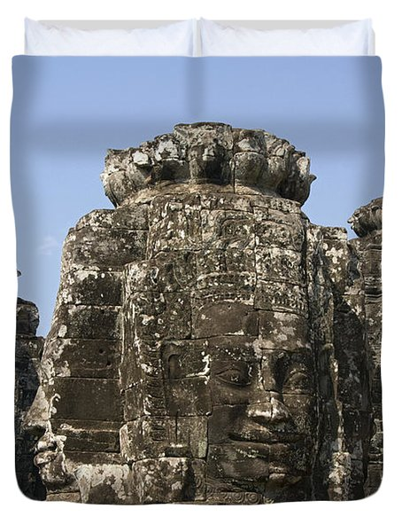 Angkor Thom IIi Duvet Cover by Gloria & Richard Maschmeyer