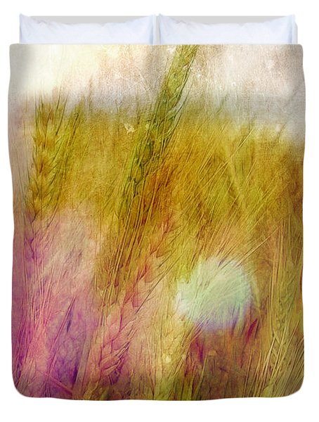 Another Field Of Dreams Duvet Cover by Judi Bagwell