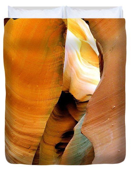 Antelope Canyon - Nature's Extravaganza Duvet Cover by Christine Till