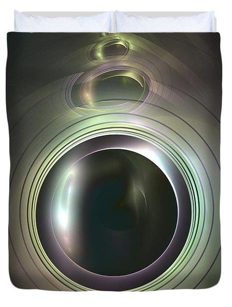 Aperture Duvet Cover by Kim Sy Ok