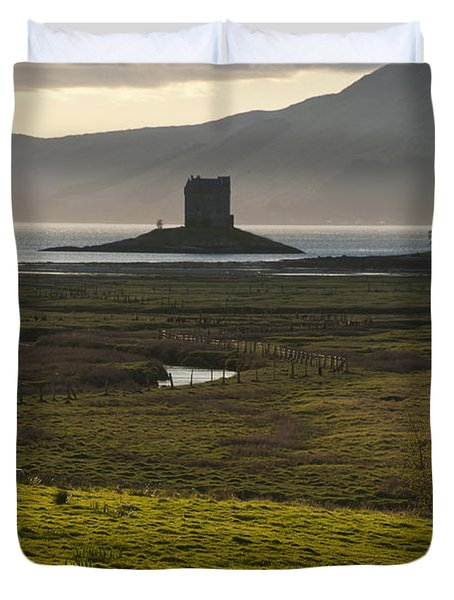 Appin, Argyll & Bute, Scotland Duvet Cover by Axiom Photographic