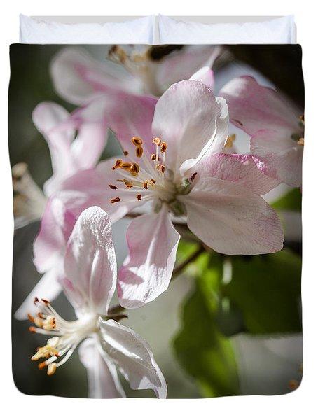 Apple Blossom Duvet Cover by Ralf Kaiser
