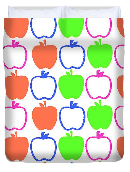 Apples Duvet Cover by Louisa Knight