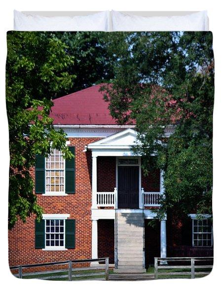 Appomattox County Court House 1 Duvet Cover by Teresa Mucha