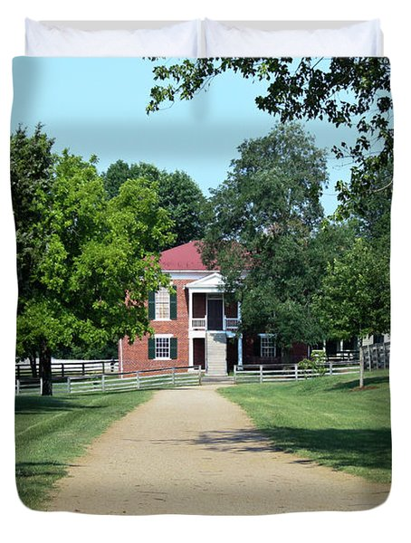 Appomattox County Court House 2 Duvet Cover by Teresa Mucha