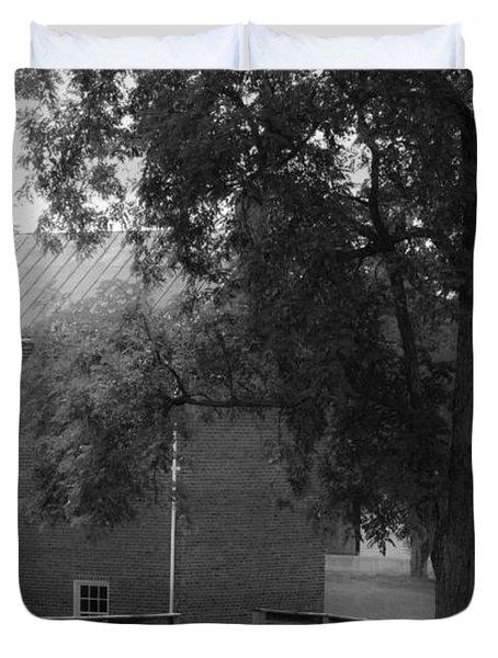 Appomatttox County Jail Virginia Duvet Cover by Teresa Mucha