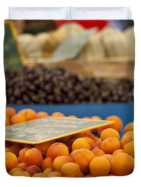 Apricot Season Duvet Cover by Nomad Art And  Design