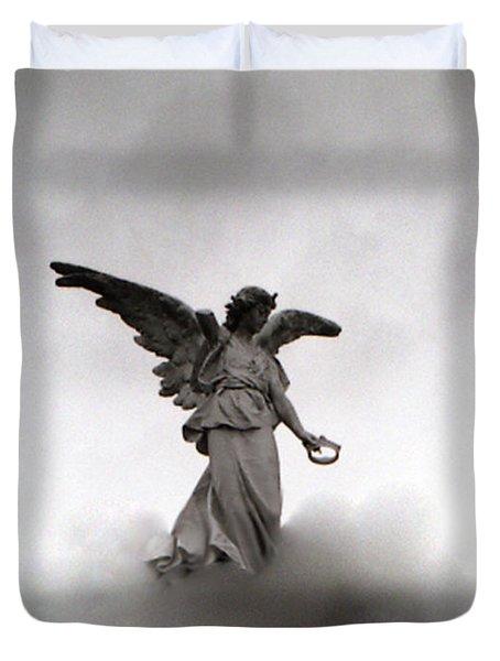 Armless Angel Duvet Cover by Doug  Duffey