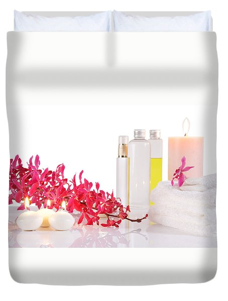Aromatherapy Duvet Cover by Atiketta Sangasaeng