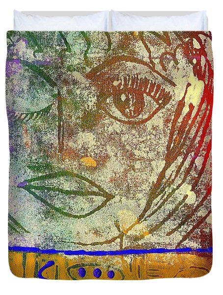 Art   Always Remember Truth Duvet Cover by Angela L Walker